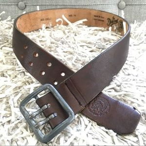 Diesel Leather Belt